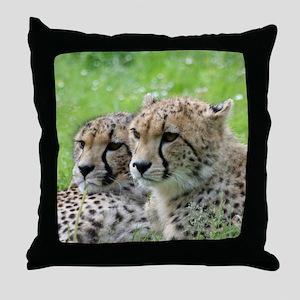 Cheetah009 Throw Pillow