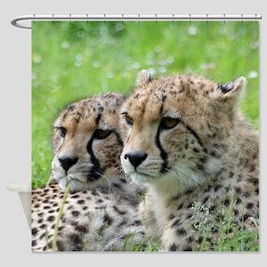 Cheetah009 Shower Curtain