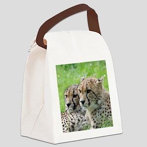 Cheetah009 Canvas Lunch Bag