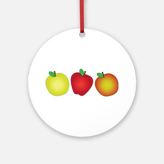 Apples Ornament (Round)