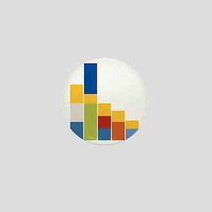 Rectangular Simpsons Mini Button