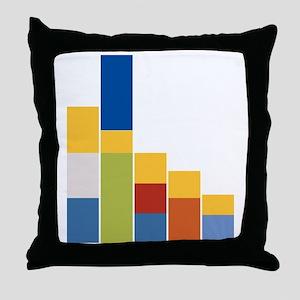 Rectangular Simpsons Throw Pillow