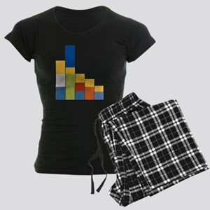 Rectangular Simpsons Women's Dark Pajamas