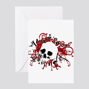 Alas Poor Yorick Greeting Cards