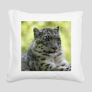 Leopard006 Square Canvas Pillow
