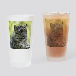 Leopard006 Drinking Glass