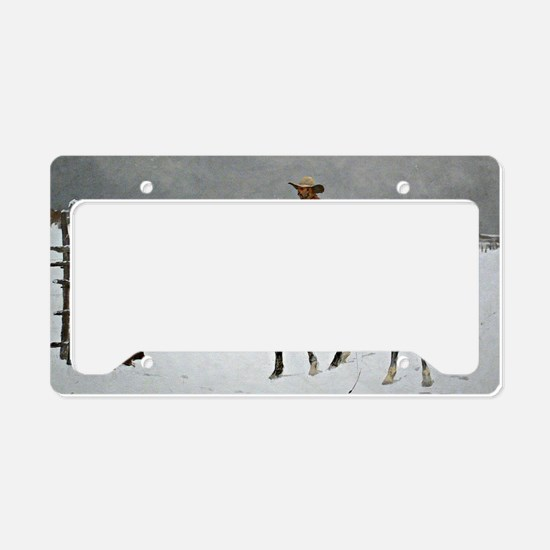 Remington: Fall of the Cowboy License Plate Holder