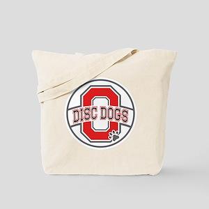 ODD White Logo Tote Bag