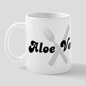 Aloe Vera (fork and knife) Mug