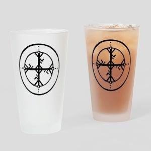 Bind Rune Drinking Glass