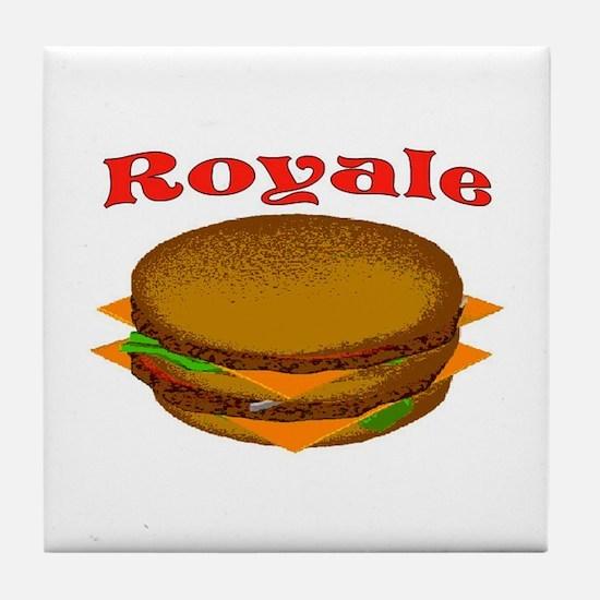 ROYALE Tile Coaster