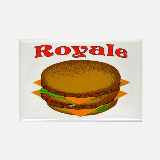ROYALE Rectangle Magnet