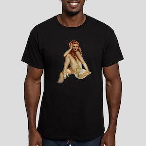 Rachel Men's Fitted T-Shirt (dark)