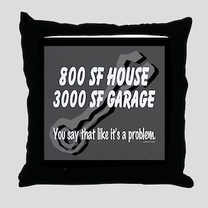 800 SF Throw Pillow