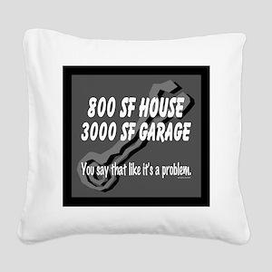 800 SF Square Canvas Pillow