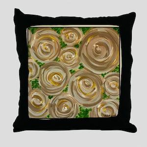Shabby Cafe Rosa Throw Pillow