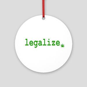 Legalize. Ornament (Round)