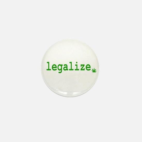 Legalize. Mini Button