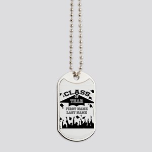 Graduation Dog Tags
