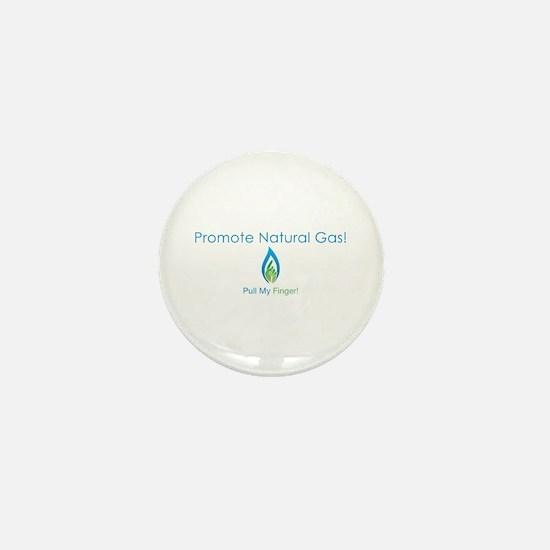 Promote Natural Gas Mini Button
