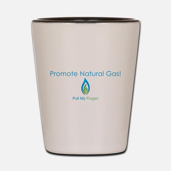Promote Natural Gas Shot Glass