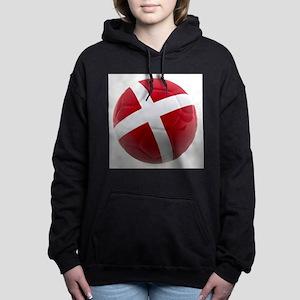 Denmark world cup ball Hooded Sweatshirt