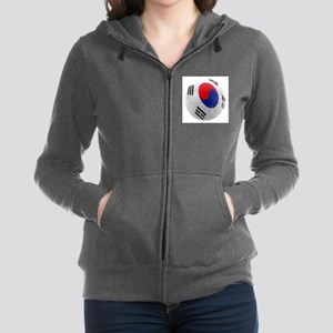 South Korea world cup Ball Zip Hoodie
