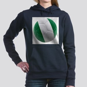Nigeria World Cup Ball Hooded Sweatshirt
