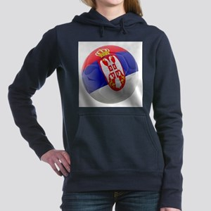 Serbia World Cup Ball Hooded Sweatshirt