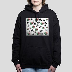 Mexican soccer balls Women's Hooded Sweatshirt