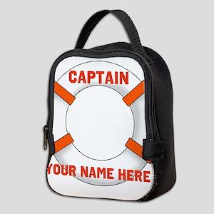 Custom Captain Neoprene Lunch Bag