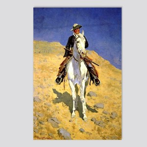 Frederic Remington: Self- Postcards (Package of 8)