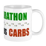 Run Marathon Eat Carbs Mug