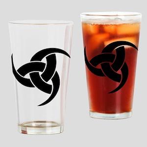 triple horn of odin Drinking Glass
