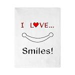 I Love Smiles Twin Duvet