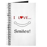I Love Smiles Journal