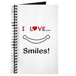I Love Smiles Journal