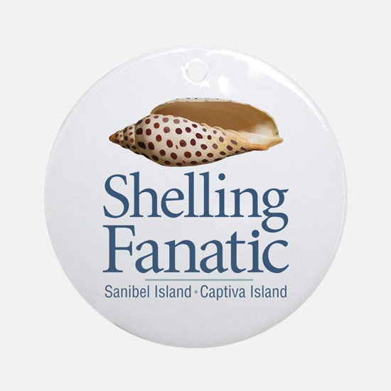 Cute Shell Round Ornament