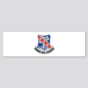DUI - 1st Bn - 327th Infantry Regiment Sticker (Bu