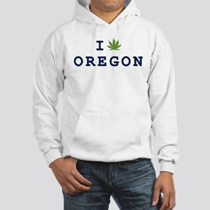 I (POT) OREGON Hooded Sweatshirt