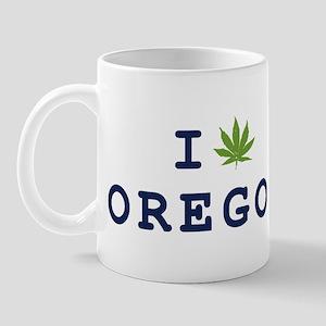 I (POT) OREGON Mug