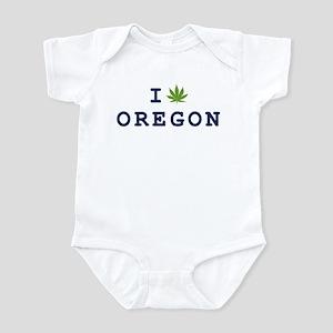 I (POT) OREGON Infant Bodysuit