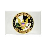 Minuteman Civil Defense - MCDC Rectangle Magnet (1