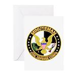 Minuteman Civil Defense - MCDC Greeting Cards (Pac