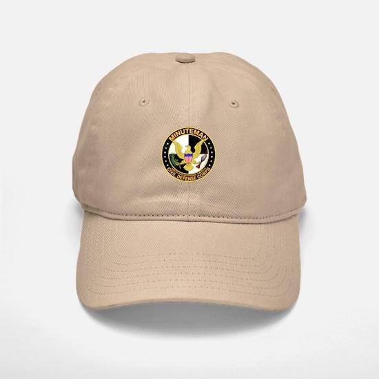 Minuteman Civil Defense - MCDC Baseball Baseball Cap