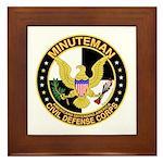 Minuteman Civil Defense - MCDC Framed Tile