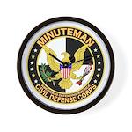 Minuteman Civil Defense - MCDC Wall Clock