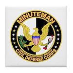 Minuteman Civil Defense - MCDC Tile Coaster