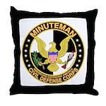Minuteman Civil Defense - MCDC Throw Pillow