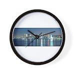 Montreal le soir Wall Clock